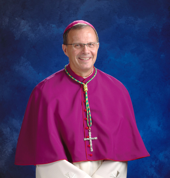 Bishop-elect William Joensen